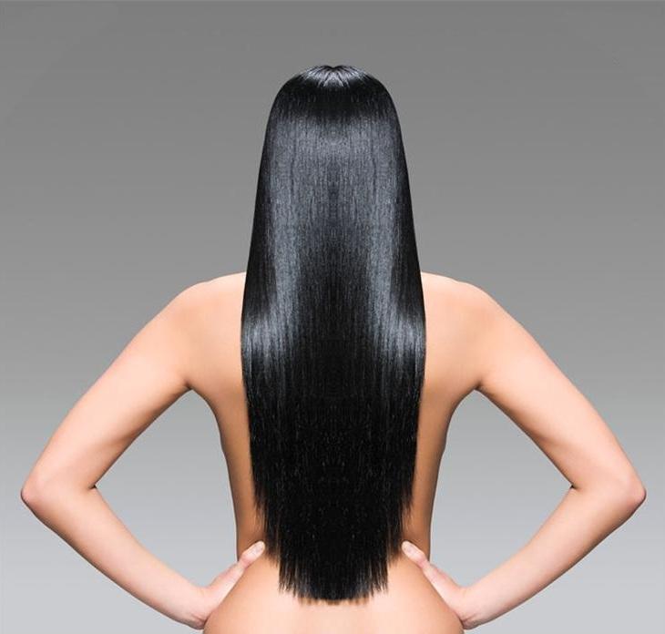 super long hair hip length