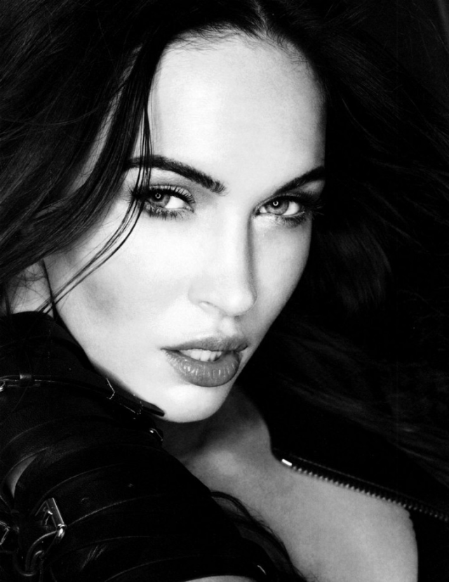 Megan Fox photographed by Sante D'Orazio poses for Esquire US  magazine February 2013 2