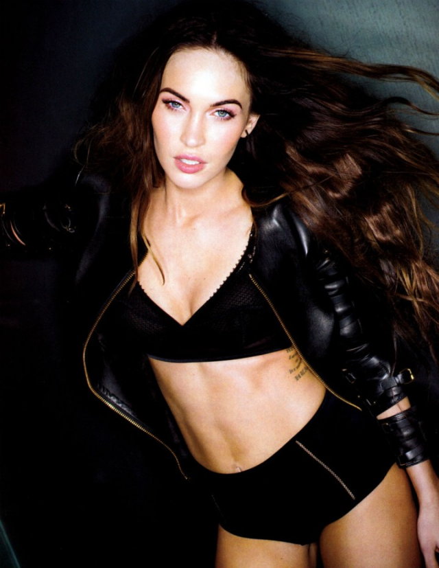 Megan Fox photographed by Sante D'Orazio poses for Esquire US  magazine February 2013 3