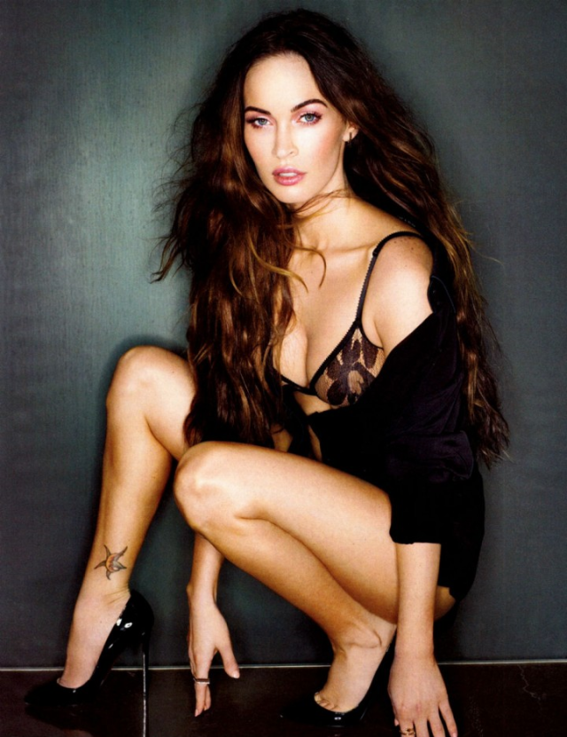 Megan Fox photographed by Sante D'Orazio poses for Esquire US  magazine February 2013 5