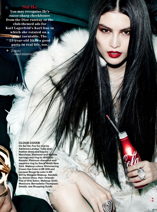 Sui He for Allure Magazine US December 2012