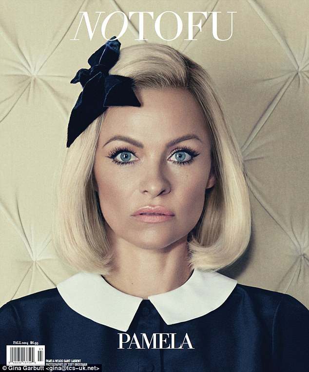PAMELA ANDERSON ON COVER OF NOTOFU MAGAZINE